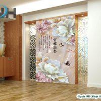Gạch 3D ốp tường giả ngọc