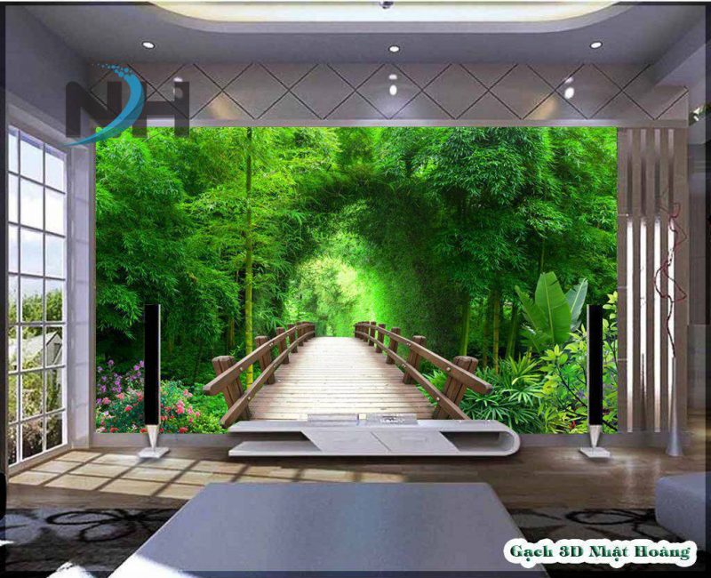 Gạch 3d phong cảnh MPC32