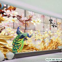 TRANH GẠCH 3D CHIM CÔNG