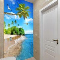 Gạch tường nhà vệ sinh