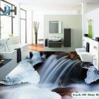 Gạch nền nhà vệ sinh