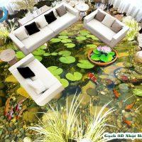 Gạch 3D lát nền hồ cá mẫu MK11