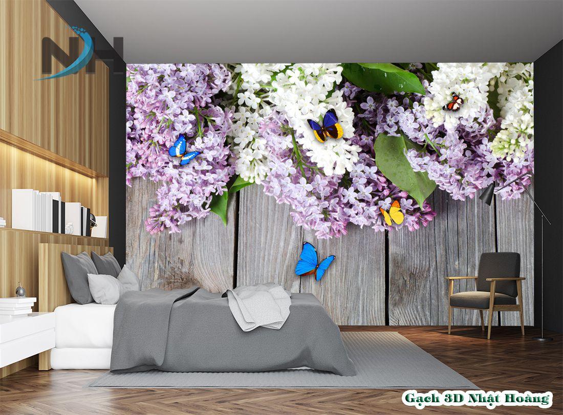 Tranh đá 5D phòng ngủ