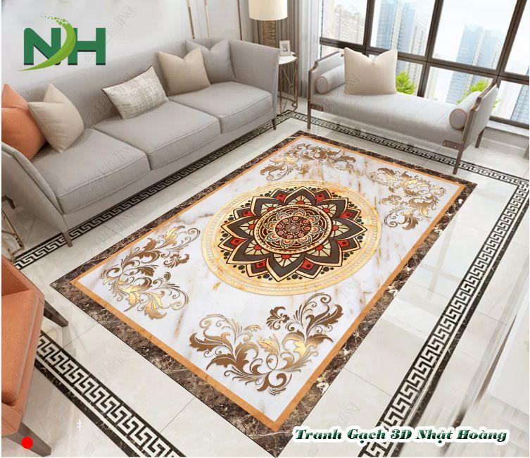 Tranh gạch thảm 3D